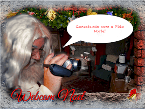 Webcam do Papai Noel