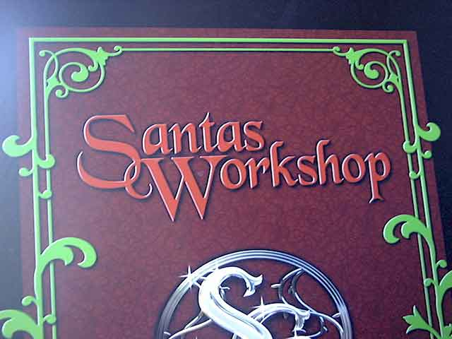 photos of Santa's Workshop