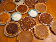 yummy Thanksgiving pies!