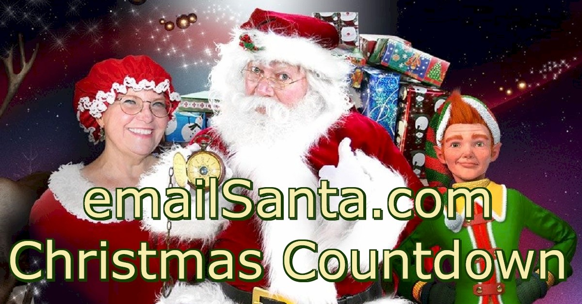 Christmas 2020 Clock Countdown How many days until Christmas 2020? Santa says just 50 sleeps till